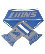 Detroit Lions NFL Blue Winter Knit Scarf New Wi... - $23.75