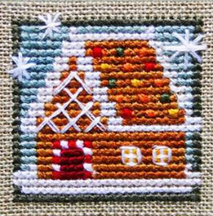 The Little House of Ginger cross stitch chart Bent Creek