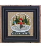 Ice Skating Globe Kit cross stitch kit Bent Creek  - $22.60