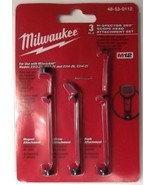 Milwaukee 48-53-0112 M-SPECTOR 360™ Scope Head Attachment 3 Piece Set - $8.11