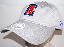 Los Angeles La Clippers Grey Slouch Hat Basketball Oem New Era Womens One Size - $14.88