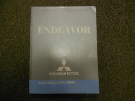 2007 MITSUBISHI ENDEAVOR Electrical Supplement Service Repair Shop Manua... - $22.73