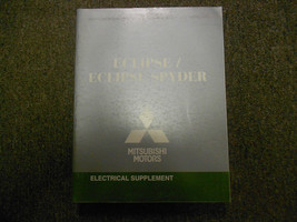 2008 MITSUBISHI Eclipse Eclipse Spyder Electrical Supplement Service Man... - $19.76