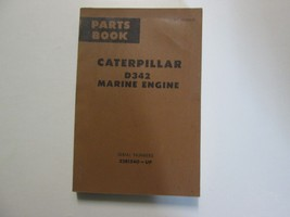 Caterpillar D342 Marine Engine Parts Book 32 B1540 Up Form Ue033519 Used Oem Cat - $29.65