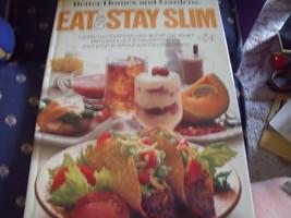 "Better Homes & Gardens ""Eat & Stay Slim"" Cookbook circa 1979 - $12.00"