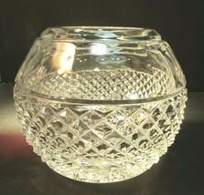 Signed Lenox cut glass rose bowl Prodience - $45.82