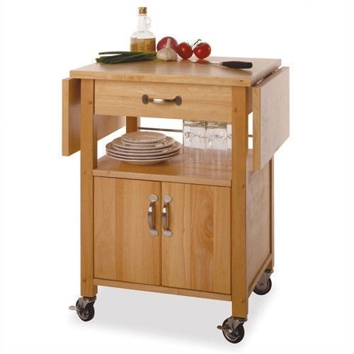 Butcher Block Cart Kitchen Island Drop Leaf And Similar Items
