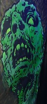 Monster Hand Painted Acrylic Backdrop 7.8x2.6 ft Haunted House Halloween... - $75.00