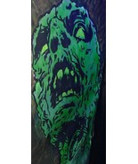 Monster Hand Painted Acrylic Backdrop 7.8x2.6 ft Haunted House Halloween... - $92.06