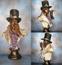 """  ONE PUFF AT A TIME  ""  BRONZE SCULPTURE MARQUETTE - $23,500.00"