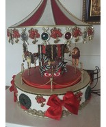 Mr. Christmas - Holiday MERRY GO ROUND - lighted animated carousel Sold ... - $19.99