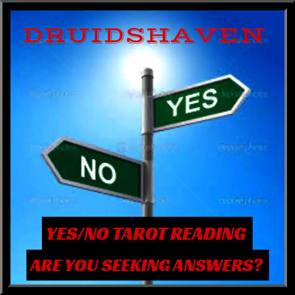YES/NO TAROT READING, ONE QUESTION PSYCHIC READING - $8.97
