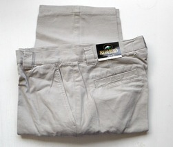 Men's Casual Pants with 6 pockets Stone   Size  32 x 32 - $19.35