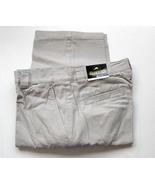 Men's Casual Cargo Pants Khaki Stone Olive 6 pockets 38 x 30  - $21.50