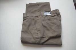 REDHEAD Men's Casual Cargo Pants Olive Stone 6 pockets 33 x 30  33 x 34  - $21.95