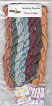 SILK FLOSS PACK for Have a Cuppa cross stitch chart Dinky Dyes - $28.50