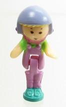 1994 Vintage Polly Pocket Dolls Scooter Fun - Polly Bluebird Toys - $7.50