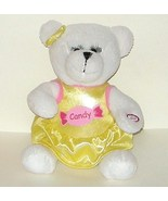 1/2 off! Hugfun Plush White Battery Bear Sings I Want Candy - $4.00