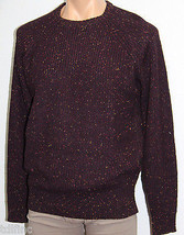 *NEW Weatherproof Deep Burgundy Wool Blend Crewneck Sweater M Medium $90... - $9.69