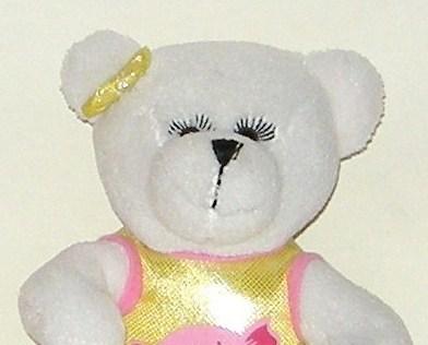 1/2 off! Hugfun Plush White Battery Bear Sings I Want Candy