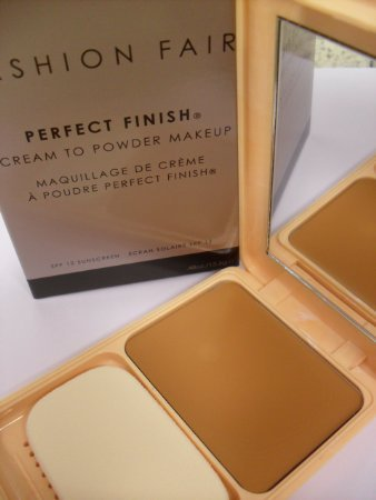 Fashion fair perfect finish cream to powder compact color tawny