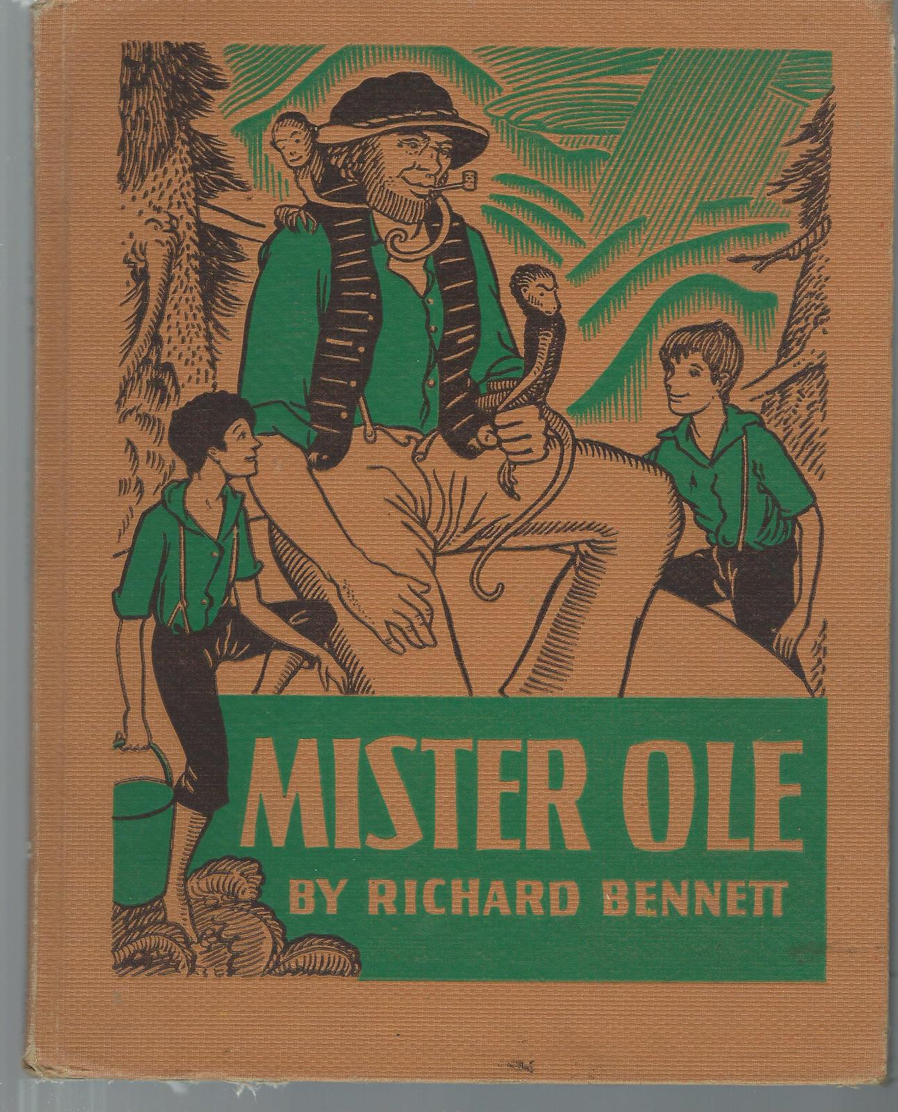 Mister Ole-Richard Bennett-1940 HC;Irish Pioneers;Puget Sound,Washington;CADMUS
