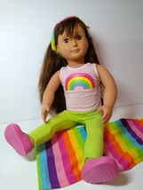 "Our Generation 18"" Brown Hair Brown Eyes Doll  Battat Doll With Outfit Shown - $17.23"