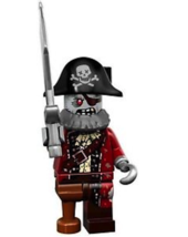 Lego  Zombie Pirate - Mini Figure LEGO 71010 - Series 14 / Monsters Minifigures  - $6.99