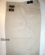 REDHEAD Flannel Lined Mens Cargo Pants Stone 34x34 - $34.95