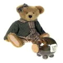 "Boyds Bears ""Bernandette Bearbuck & Piggy""  QVC EXCLUSIVE SET- #C22621- ... - $89.99"