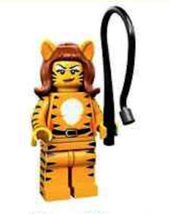 LEGO  Tiger Woman Minifig Series 14 Minifig Minifigure  71010 Monsters - $6.99