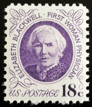 1974 18c Elizabeth Blackwell, Physician Scott 1399 Mint F/VF NH - $0.99