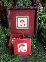 Santa Box Kit christmas cross stitch kit Shepherd's Bush - $12.00