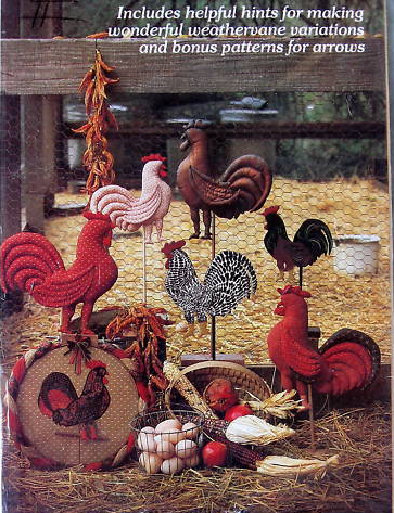 The WEATHERVANE ROOSTER Pattern Series, by Yours Truly