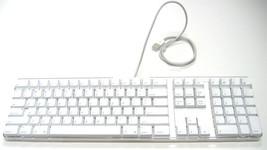 Apple Model A1048 G4/G5 iMac/Mac Pro Home Office White USB Keyboard *Wor... - $39.95