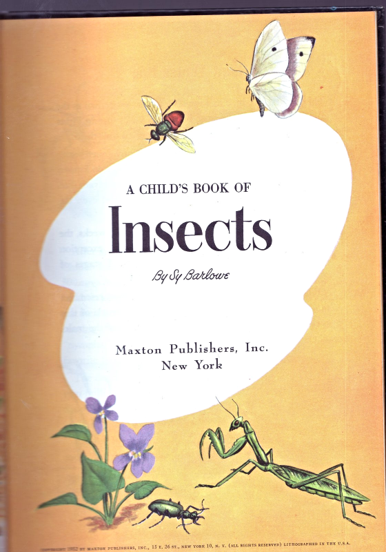 Insects By Sy Barlowe