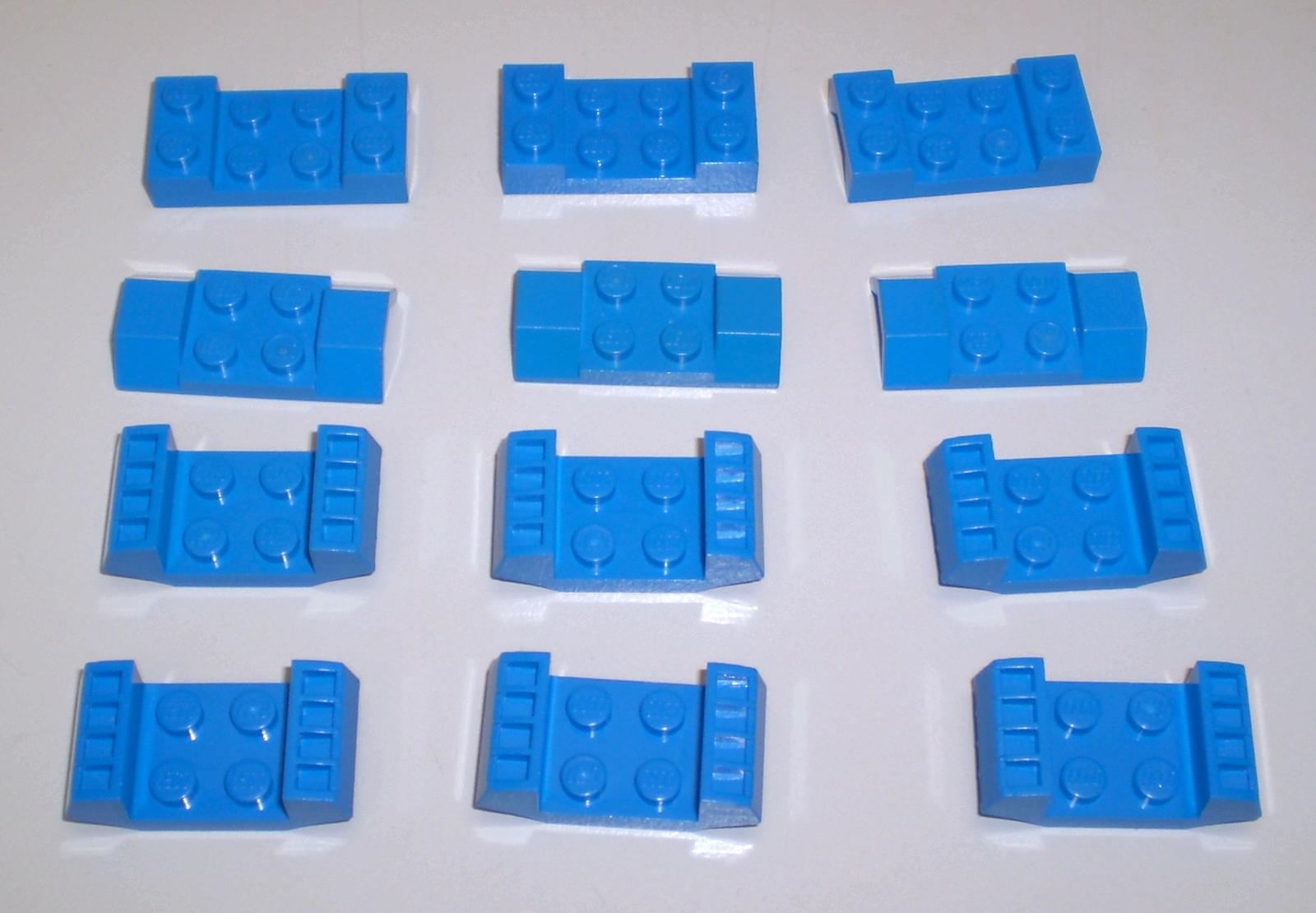 Lego Domes 2x2 Dark Tan x4 553