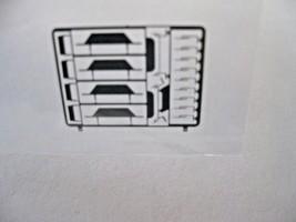 Trainworx Stock #201 EMD Cab Dress up Kit N-Scale image 1