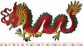 Chinese dragon kung fu tattoo applique iron-on ... - $8.90
