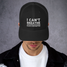 I Can't Breathe Hat / I Can't Breathe Trucker Cap image 4