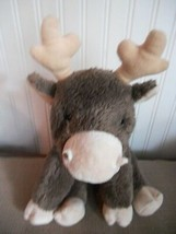 "Kohls Plush Reindeer Elk Caribou Night Before Xmas 11"" Stuffed Animal Toy - $10.19"