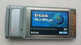 D-Link AirPlus 2.4GHz Wireless Network Notebook Laptop Card DWL-G650+ - $5.94