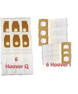 Hoover Platinum Style HEPA 6 Q & 6 I Vacuum Bags – 12 Bags Total, Bulk Pack - $16.99