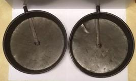 "2 Vintage Layer Cake Pans Release Slider Bar 8"" Round Baking Tins Bakeware  - ₹560.70 INR"