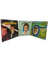 Lot 3 Traditional Pop 60s Vinyl Records Roger Williams George Jones Bobb... - £7.20 GBP