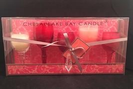 Chesapeake Bay Candle Casablanca Romantic 5 Piece Wine Goblet Glass Set ... - $17.99
