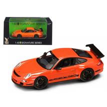 Porsche 911 997 GT3 RS Orange 1/43 Diecast Car Model by Road Signature 4... - $23.92