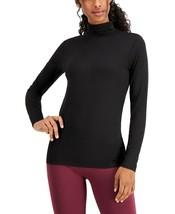32 Degrees Base Layer Cozy Warm Mock Neck Top, Black, S - $10.71