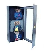 Polo Ralph Lauren Men's Teddy Bear Dress Socks Boxed Gift Set of Three Designs - £54.53 GBP