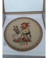 MI Hummel 1974 In Original Box 4th Annual Collector Plate Goebel West Ge... - $15.99